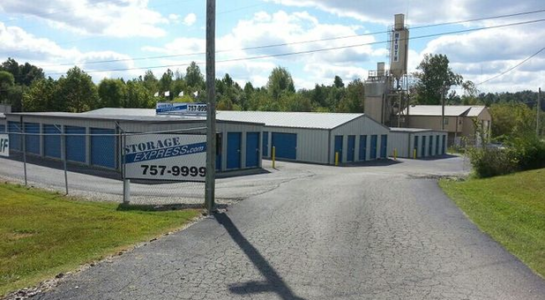 Entrance to Central City storage facility