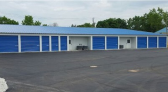 Storage units with drive-up access
