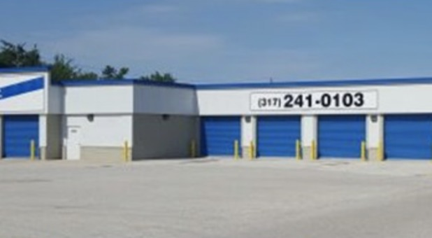 Large storage units with drive-up access