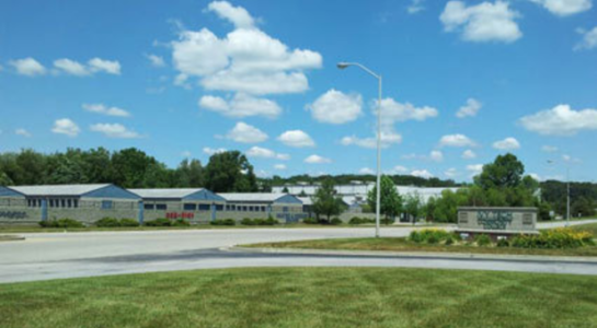 Storage facility on Daniels Way in Bloomington