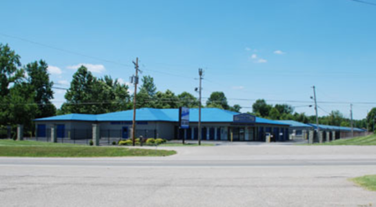 Street view of storage facility on 10th Street