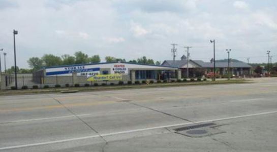 Street view of storage facility on National Turnpike