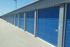 Storage facility door