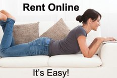 Rent online. It's easy!