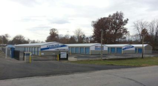Street view of storage facility in Washington
